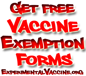 Vaccine Exemption Forms The Original Title Of The Page